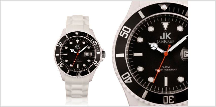 £24.99 instead of £150 (from Jan Kauf) for a Mens Jan Kauf watch - save 83% from Wowcher