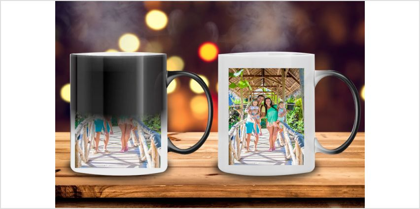 If you like it so much put your name on it with our personalised magic mug deal! from Wowcher
