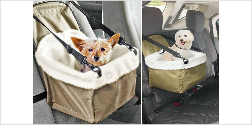 £9.99 instead of £31 (from Buy Something) for a pet car seat - save 68% from Wowcher