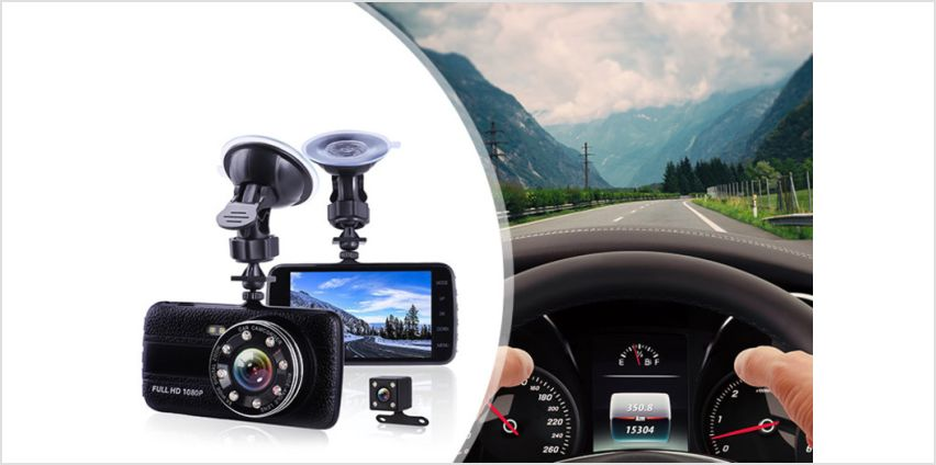 £24.99 instead of £95 (from Hirix) for an HD dash cam or £34.99 for a camera with 32GB memory card - save 74% from Wowcher