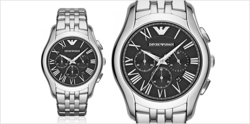 £109 instead of £389 (from Best Watch Company) for an Emporio Armani men's chronograph AR1786 watch –save 72% from Wowcher