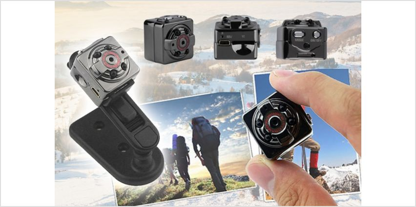 £6.99 instead of £59.99 (from WowWhatWho) for a HD 1080P mini DV hidden spy camera - save 88% from Wowcher