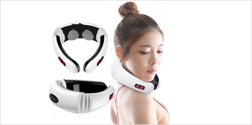 £9.99 instead of £49.99 (from The Electronic Store) for a neck massager - save 80% from Wowcher