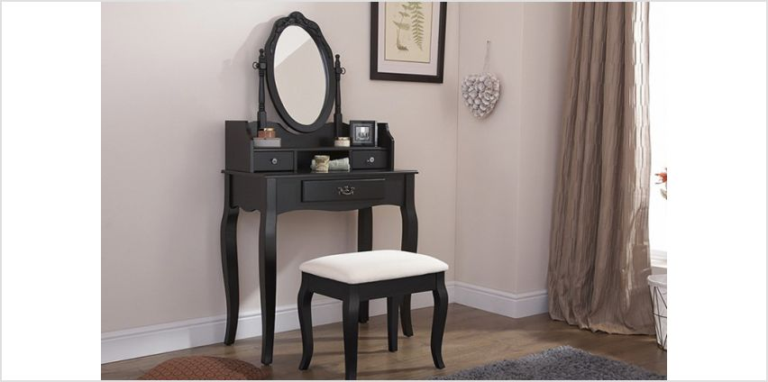 £149 instead of £249.01 (from Right Deals) for a Lumberton dressing table - save 40% from Wowcher