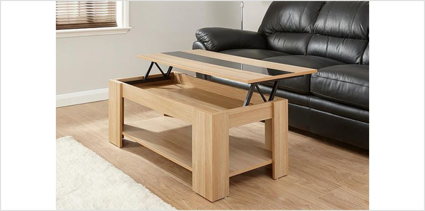 £64 instead of £109.01 (from Right Deals) for a lift-top coffee table with a high-gloss strip - save 41% from Wowcher