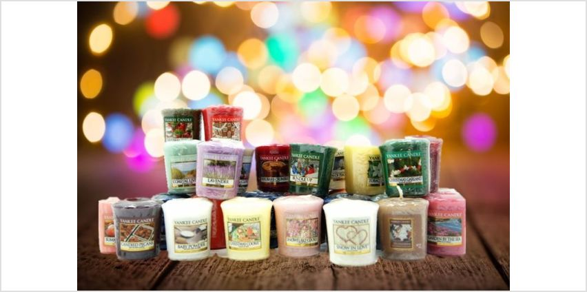 £26.99 instead of £59.70 for 30 assorted Yankee votive candles from Yankee Bundles - save 55% from Wowcher