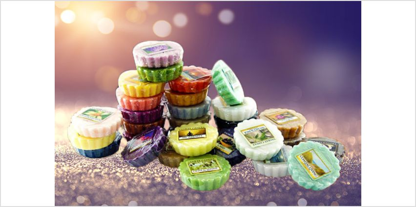 £26.99 instead of £71.60 for 40 assorted Yankee candle wax melts from Yankee Bundles - save 62% from Wowcher