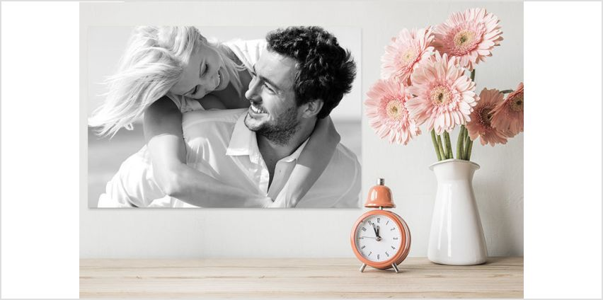 £3.99 instead of £39.99 for an A3 personalised canvas - choose from seven filters from Fab Deco Ltd - Deco Matters - save 90% from Wowcher