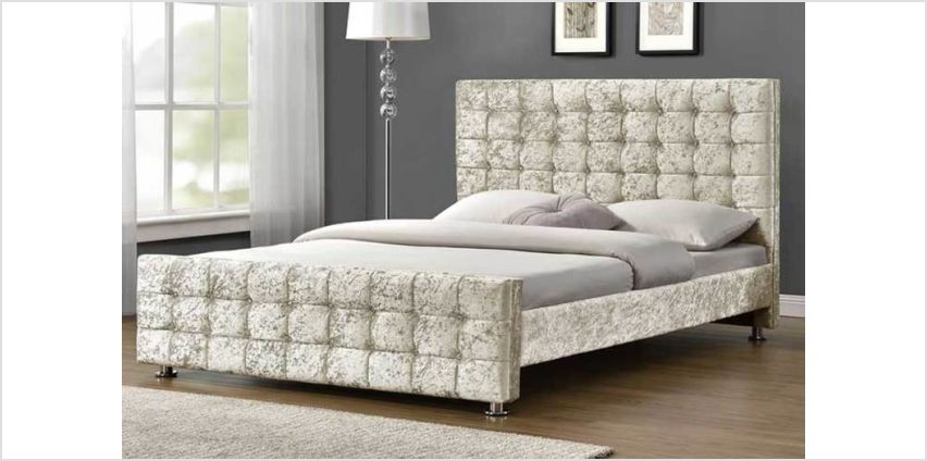 From £169.99 for a hand made Belmond velvet fabric bed from Dreamtouch Mattresses LTD - save up to 66% from Wowcher