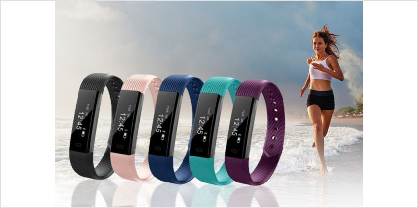£8.99 instead of £45.99 (from YelloGoods) for a 14-in-1 wireless ID115 fitness tracker smart watch - choose from five colours and save 78% from Wowcher