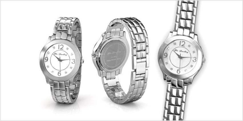 £29 instead of £129 (from Her Jewellery) for a metallic watch made with crystals from Swarovski ® - save 78% from Wowcher