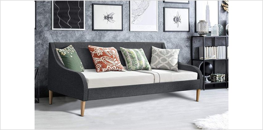 From £139 for a Demont day bed with mattress option from Envisage Home - save up to 78% from Wowcher