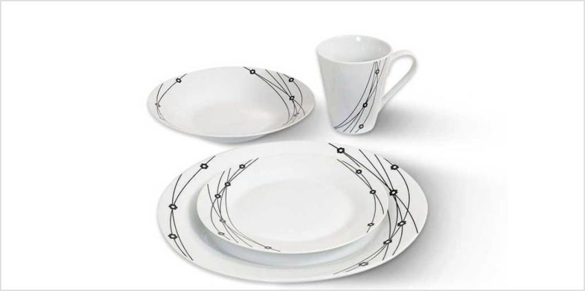 £12.99 instead of £50 for a 16-piece dinner set from Direct2Public Ltd - save 74% from Wowcher