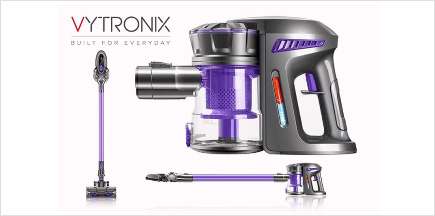 £69 instead of £149.99 for a cordless vacuum cleaner from Vytronix - save up to 54% from Wowcher