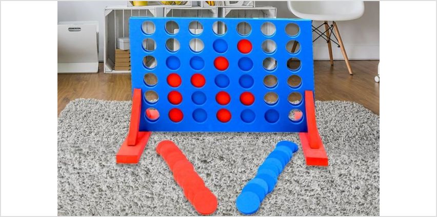 £14 instead of £56.63 (from Who Needs Shops) for a giant foam connect 4 game - save 75% from Wowcher