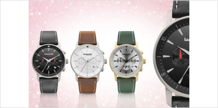 From £39 instead of £209.48 (from Lambretta Watches) for a Lambretta Imola 44 leather watch - save up to 81% from Wowcher