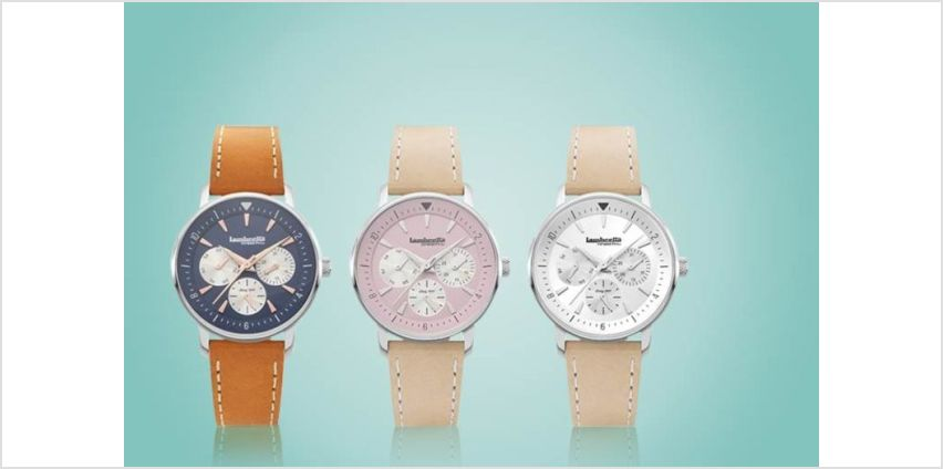From £34 instead of £173.84 (from Lambretta Watches) for a Lambretta Imola 36 leather watch –save up to 80% from Wowcher