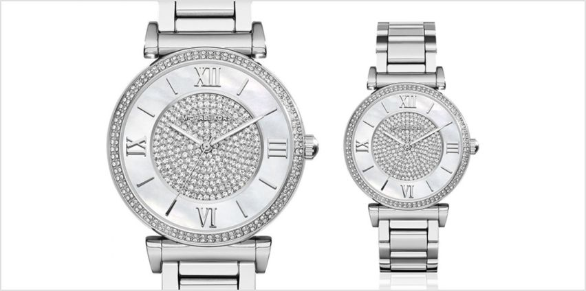 Time to check out our Michael Kors MK3355 ladies Caitlin watch! from Wowcher