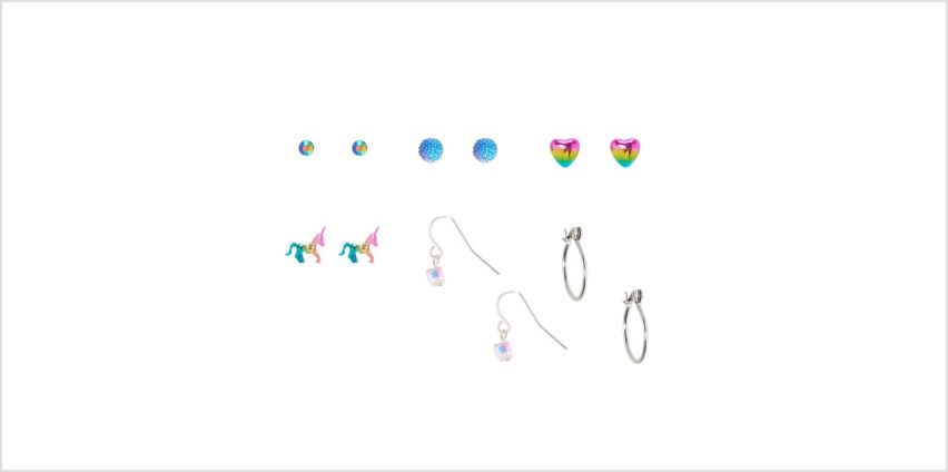 Go to Product: Anodized Mixed Earrings - 6 Pack from Claires