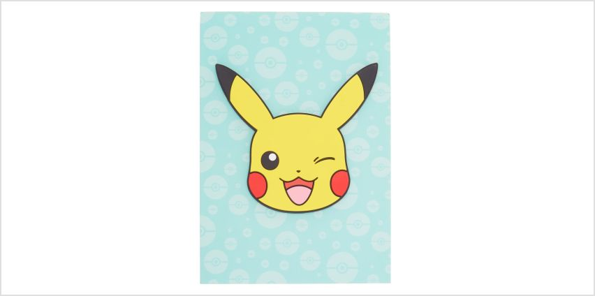 Go to Product: Pokémon™ Pikachu notebook – Turquoise from Claires
