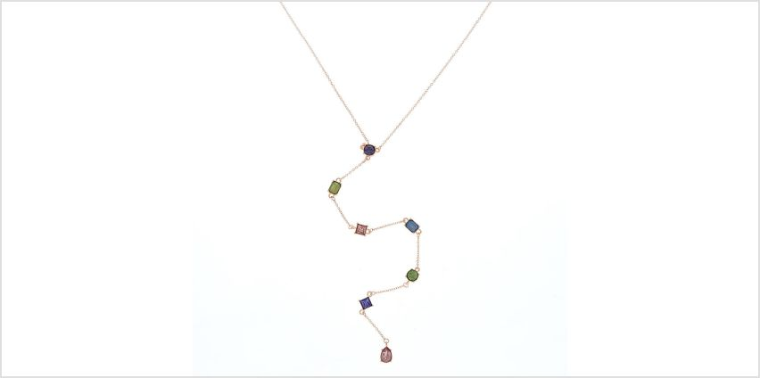 Go to Product: Rose Gold Jewel Tone Y-Neck Pendant Necklace from Claires