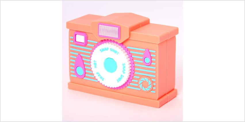 Go to Product: MojiPower® Camera Battery Power Bank - Orange from Claires