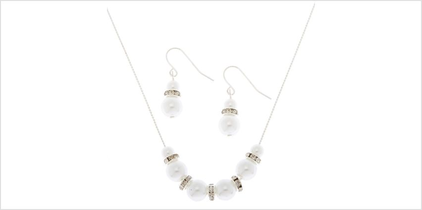 Go to Product: Silver Pearl Jewellery Set - 2 Pack from Claires