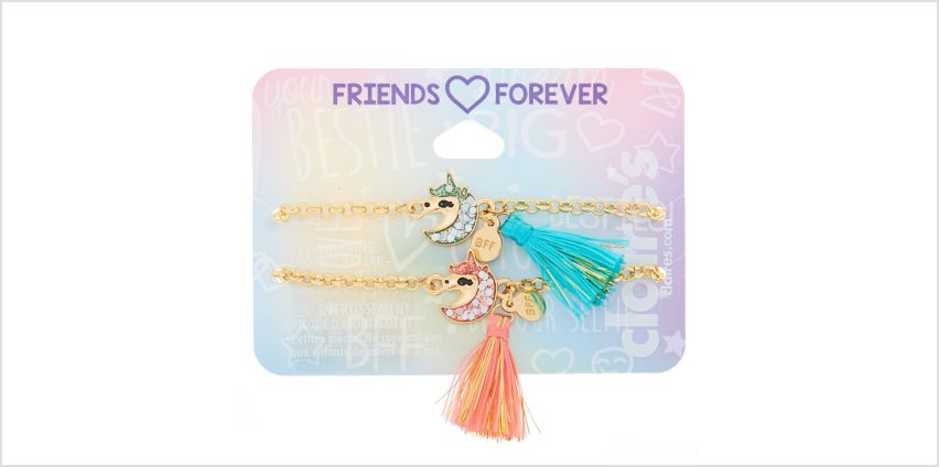 Go to Product: Unicorn Tassel Chain Friendship Bracelets - 2 Pack from Claires