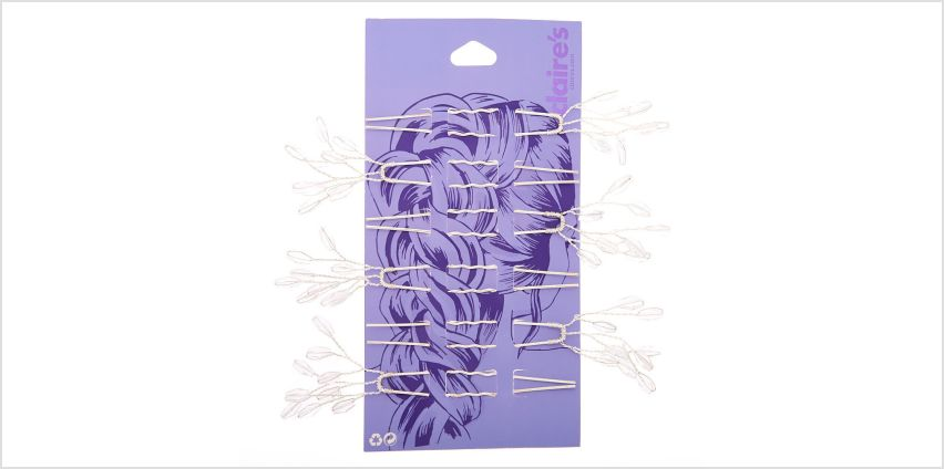 Go to Product: Silver Branch Hair Pins - 6 Pack from Claires