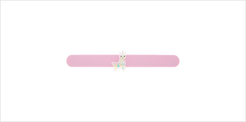Go to Product: Lala the Llamacorn Slap Bracelet - Pink from Claires