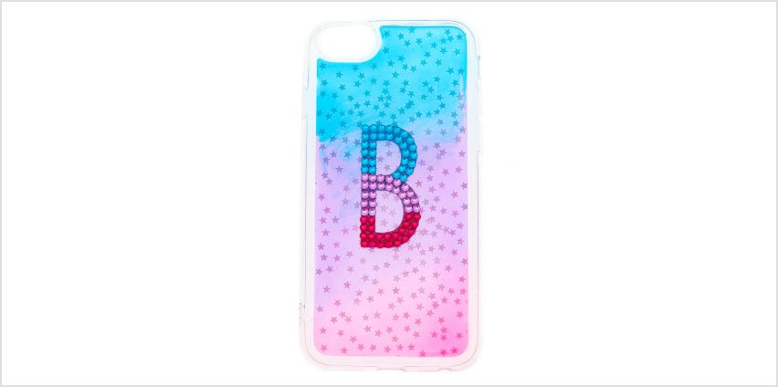 Go to Product: Ombre Star B Initial Phone Case - Fits iPhone 6/7/8 from Claires