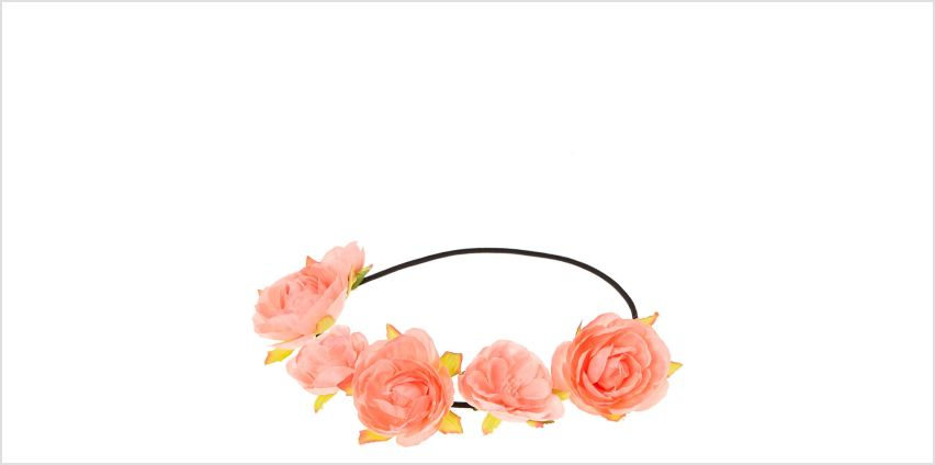 Go to Product: Pink Flower Headwrap from Claires