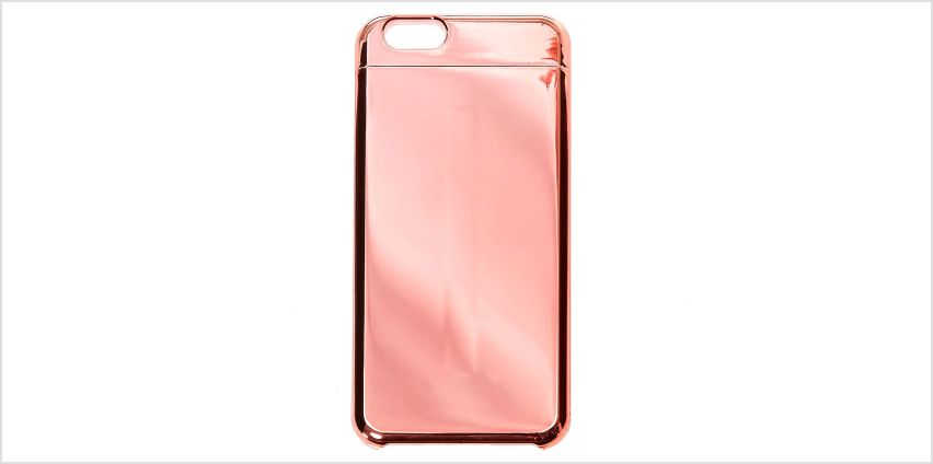 Go to Product: Rose Gold Mirrored Slider Phone Case - Fits iPhone 6/7/8 from Claires