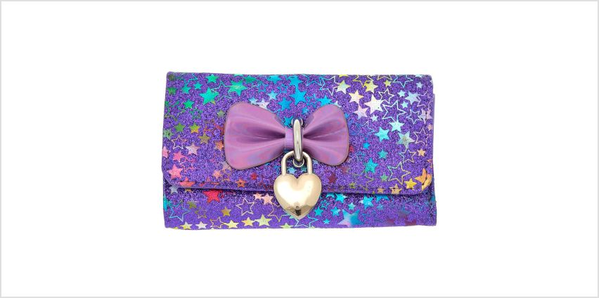 Go to Product: Holographic Bow Glitter Star Wallet - Purple from Claires