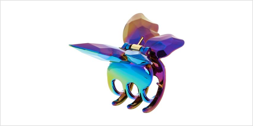 Go to Product: Anodized Butterfly Hair Claw - Purple from Claires