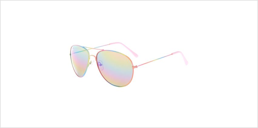 Go to Product: Pastel Rainbow Aviator Sunglasses from Claires