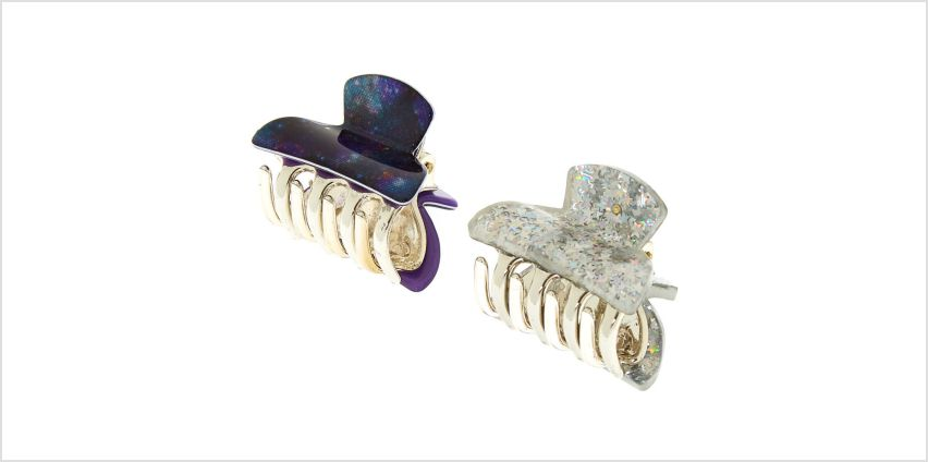 Go to Product: Space Galaxy Hair Claws - 2 Pack from Claires