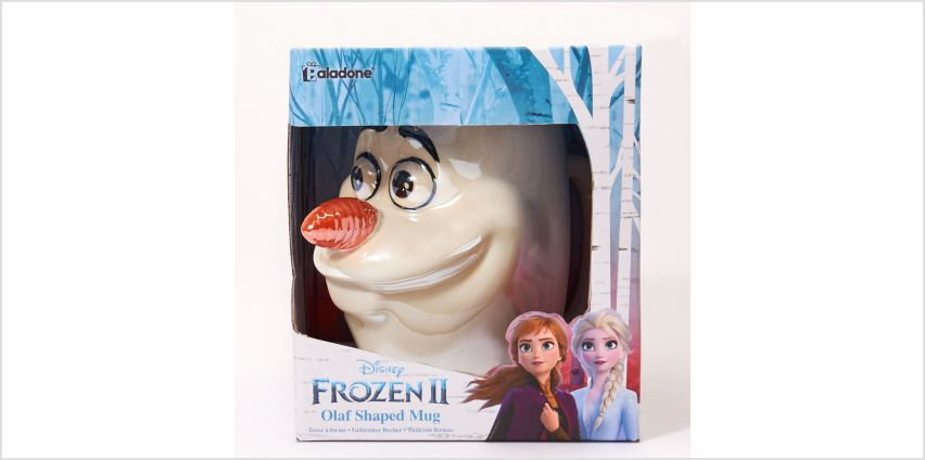 Go to Product: ©Disney Frozen 2 Olaf Shaped Mug – White from Claires