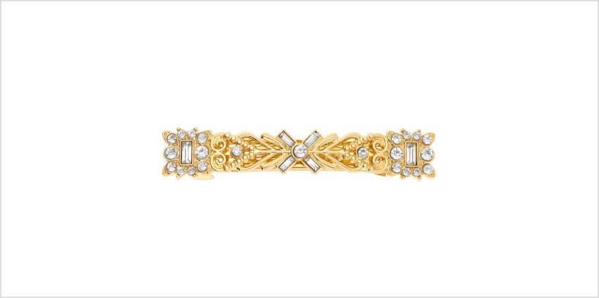 Go to Product: Gold Greek Goddess Crystal Hair Barrette from Claires