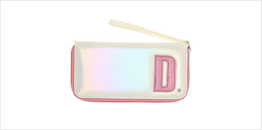 Go to Product: Pearlescent Initial Wristlet - D from Claires