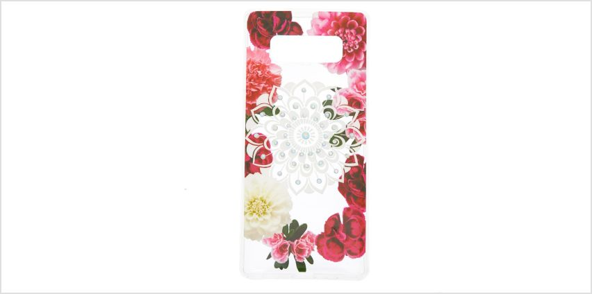 Go to Product: Floral Bling Mandala Phone Case - Fits Samsung Galaxy Note 8 from Claires