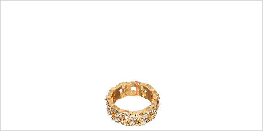 Go to Product: Gold Chain & Faux Crystal Ring from Claires