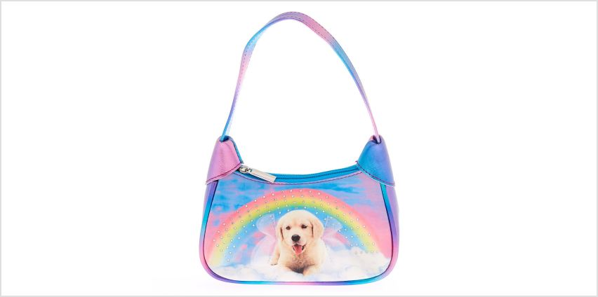 Go to Product: Claire's Club Rainbow Puppy Purse from Claires