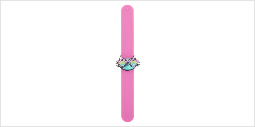 Go to Product: Cam the Cat Slap Bracelet from Claires