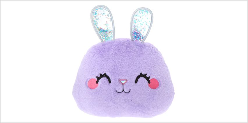 Go to Product: Bella the Bunny Plush Pillow - Lilac from Claires