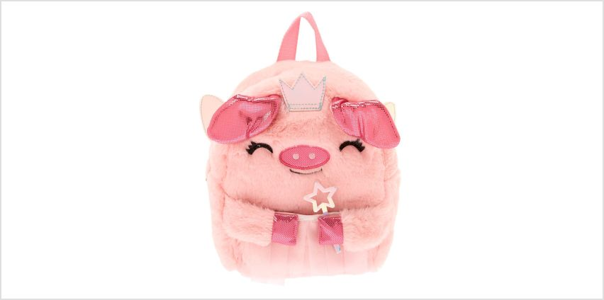 Go to Product: Claire's Club Flying Pig Backpack - Pink from Claires