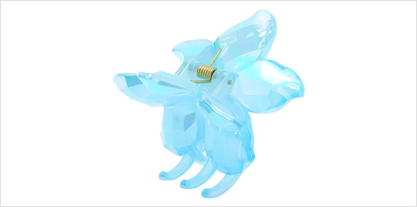 Go to Product: Icy Flower Hair Claw - Blue from Claires