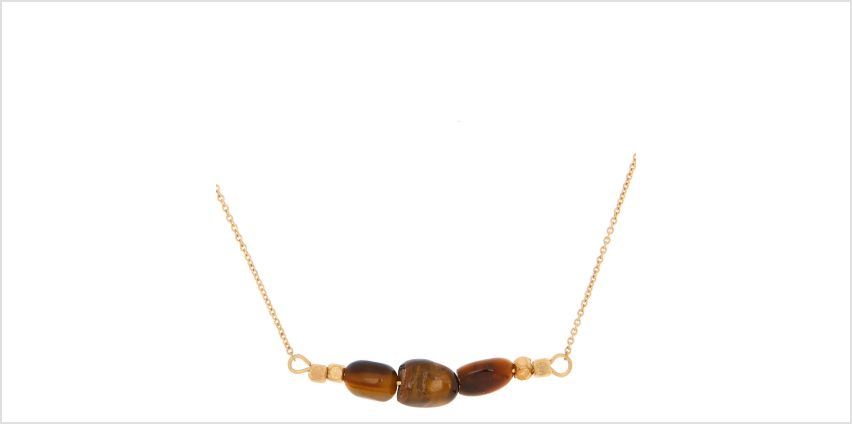 Go to Product: Tiger Eye Quartz Prosperity Pendant Necklace from Claires