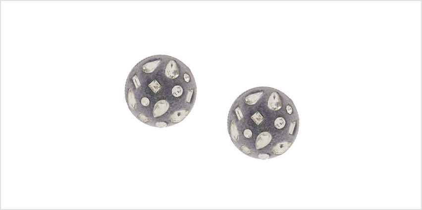 Go to Product: Velvet Glam Button Post Earrings from Claires