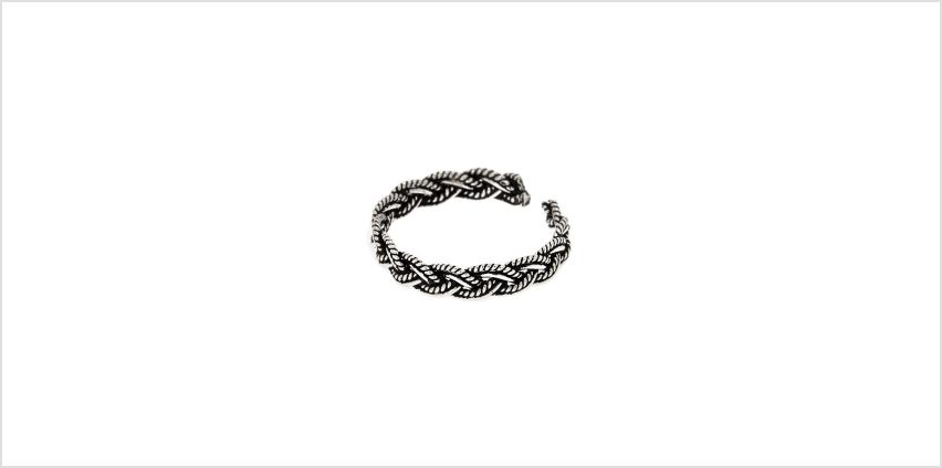 Go to Product: Sterling Silver Bali Braided Toe Ring from Claires